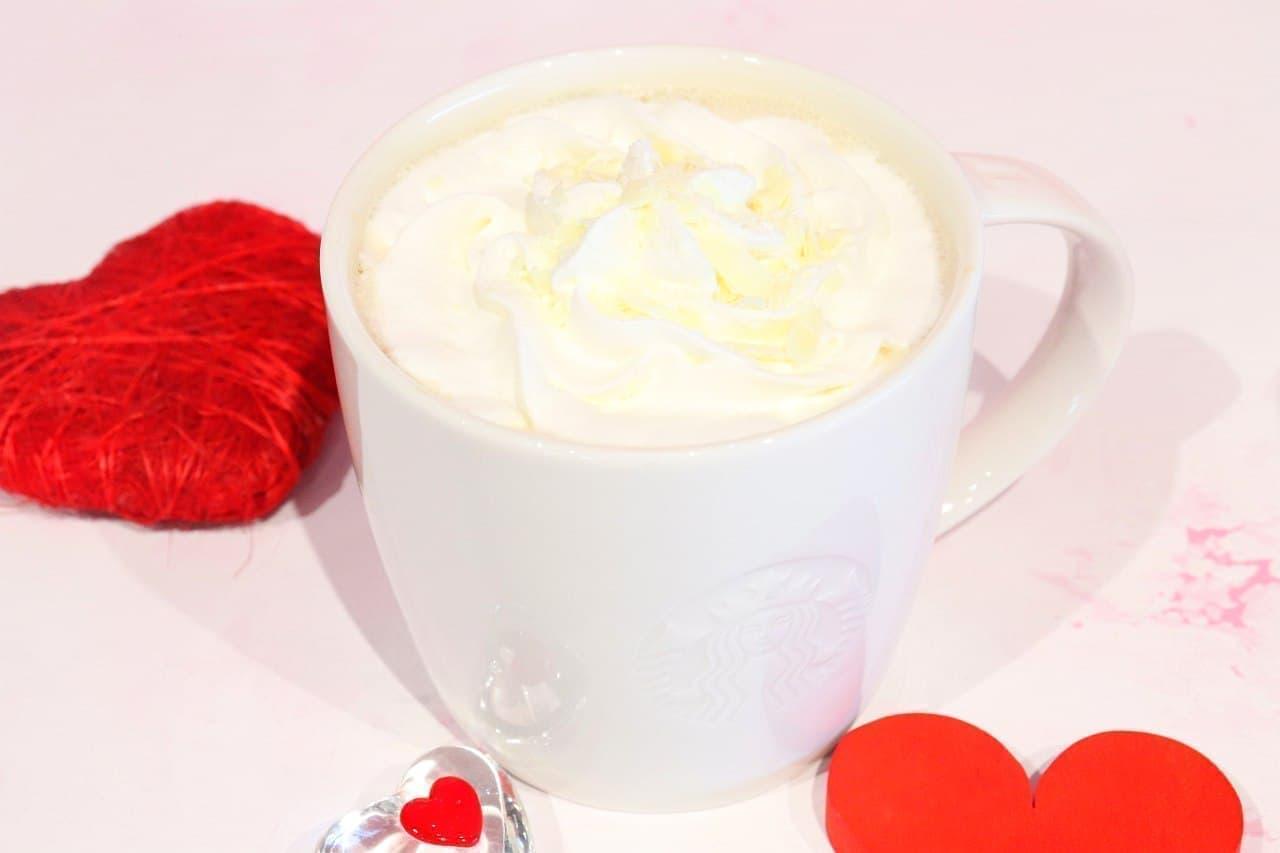 スターバックス「ホワイト チョコレート with ラテ」