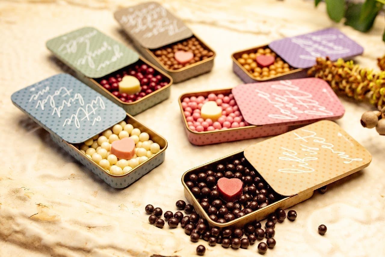 キル フェ ボンに彩り豊かな粒チョコ「ドットチョコレート」