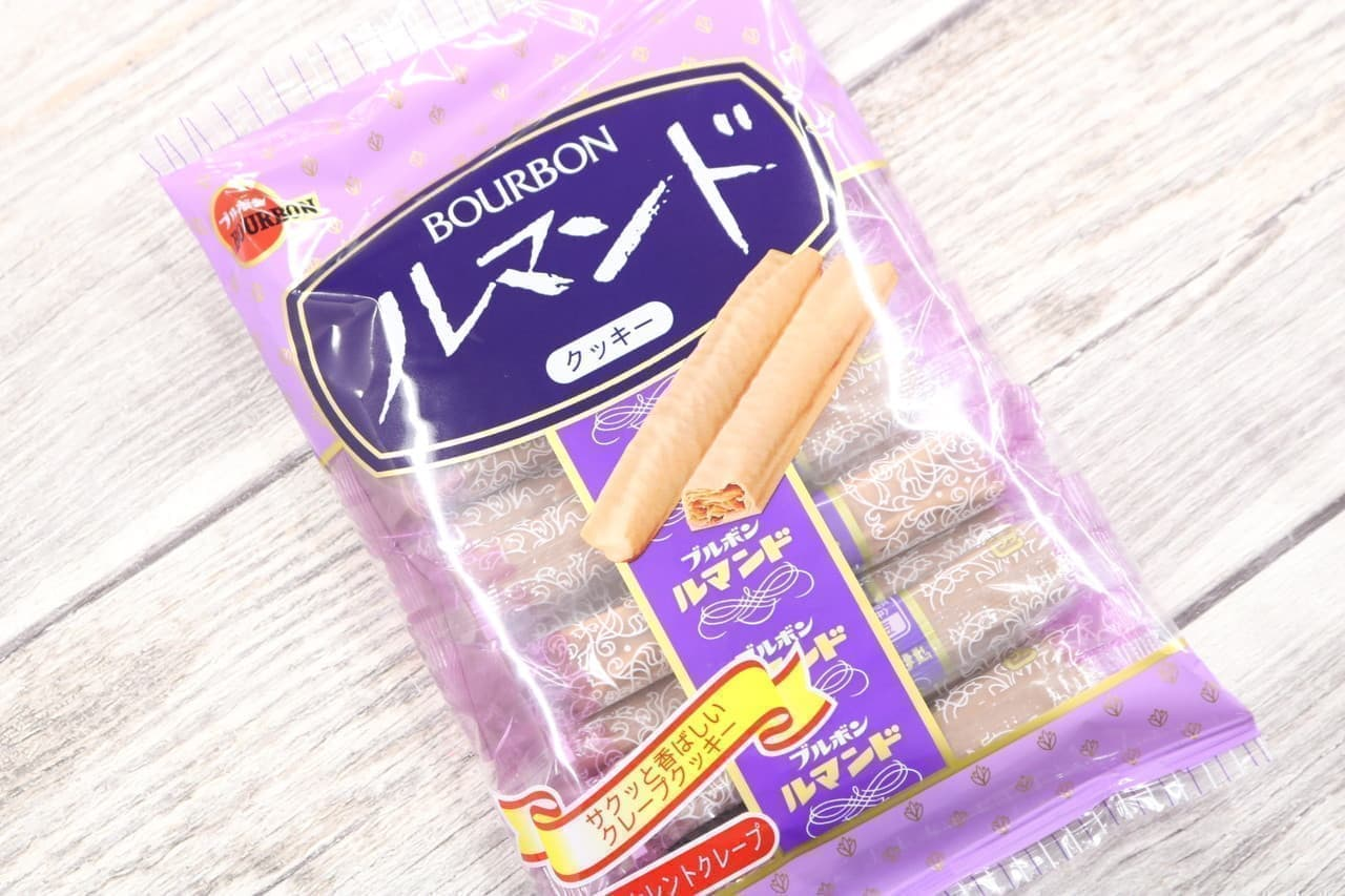 クレープクッキー ルマンド