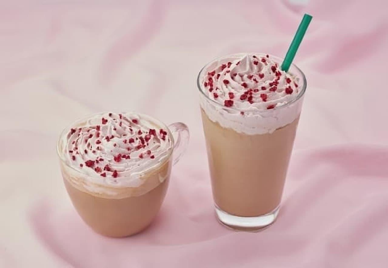 タリーズコーヒー「ルビーチョコ&ホワイトモカ」