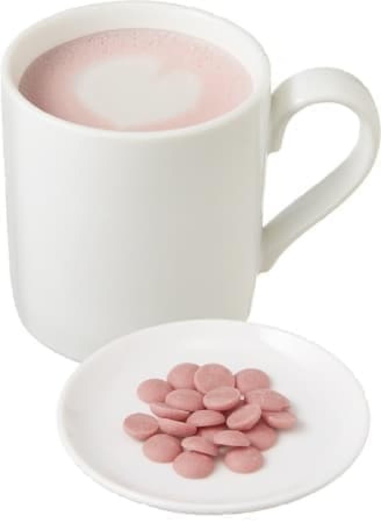 カフェ・ベローチェ「ルビーチョコレートラテ」