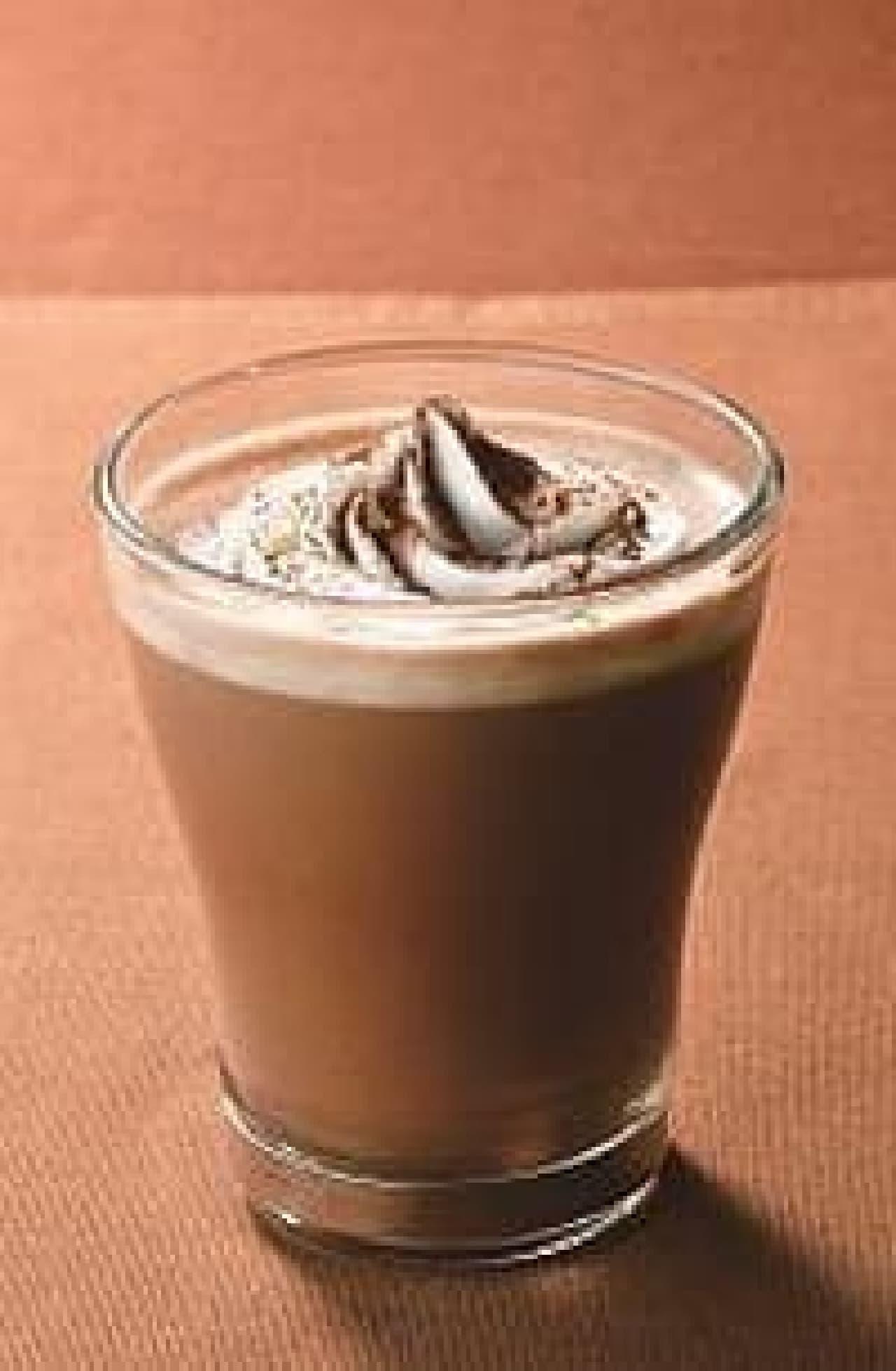 カフェ・ド・クリエ「ホットチョコレート~ハイカカオ71%~」