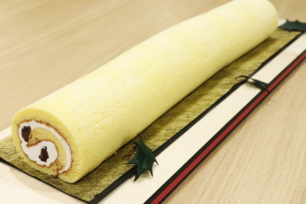 イトーヨーカドーのロングデザート「ながーい!3食ロール」