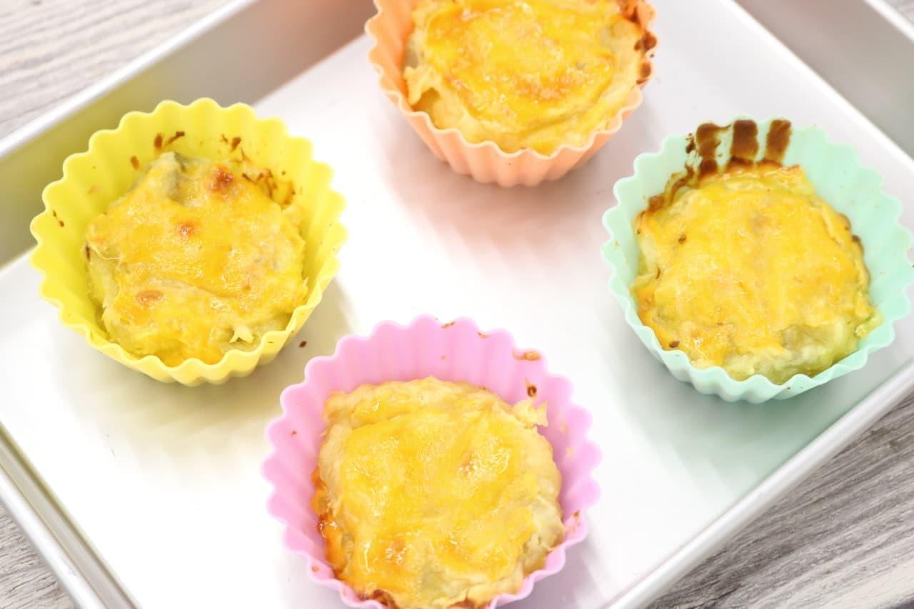 バニラアイスのスイートポテトレシピ