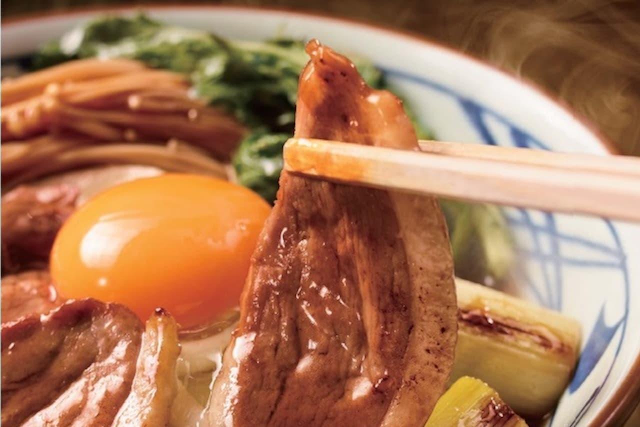 丸亀製麺に「鴨すき焼きうどん」「鴨ねぎうどん」今年も