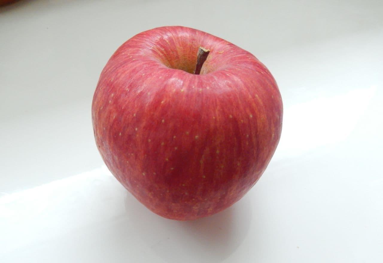 りんごのスターカット