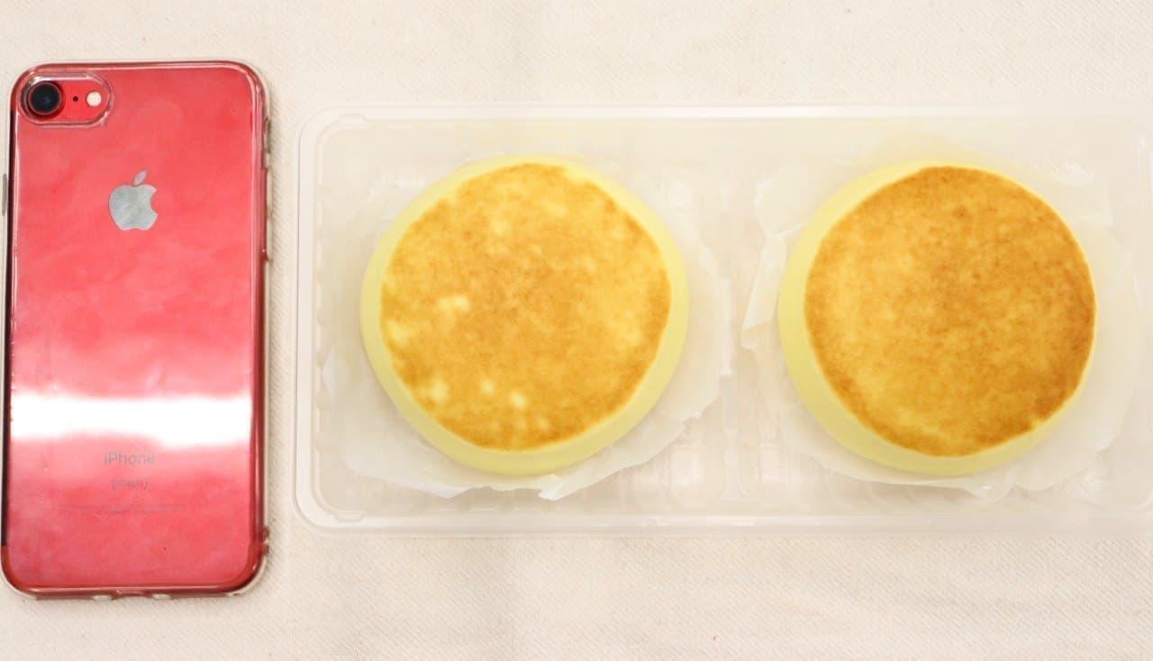 井村屋「ホットケーキまん」