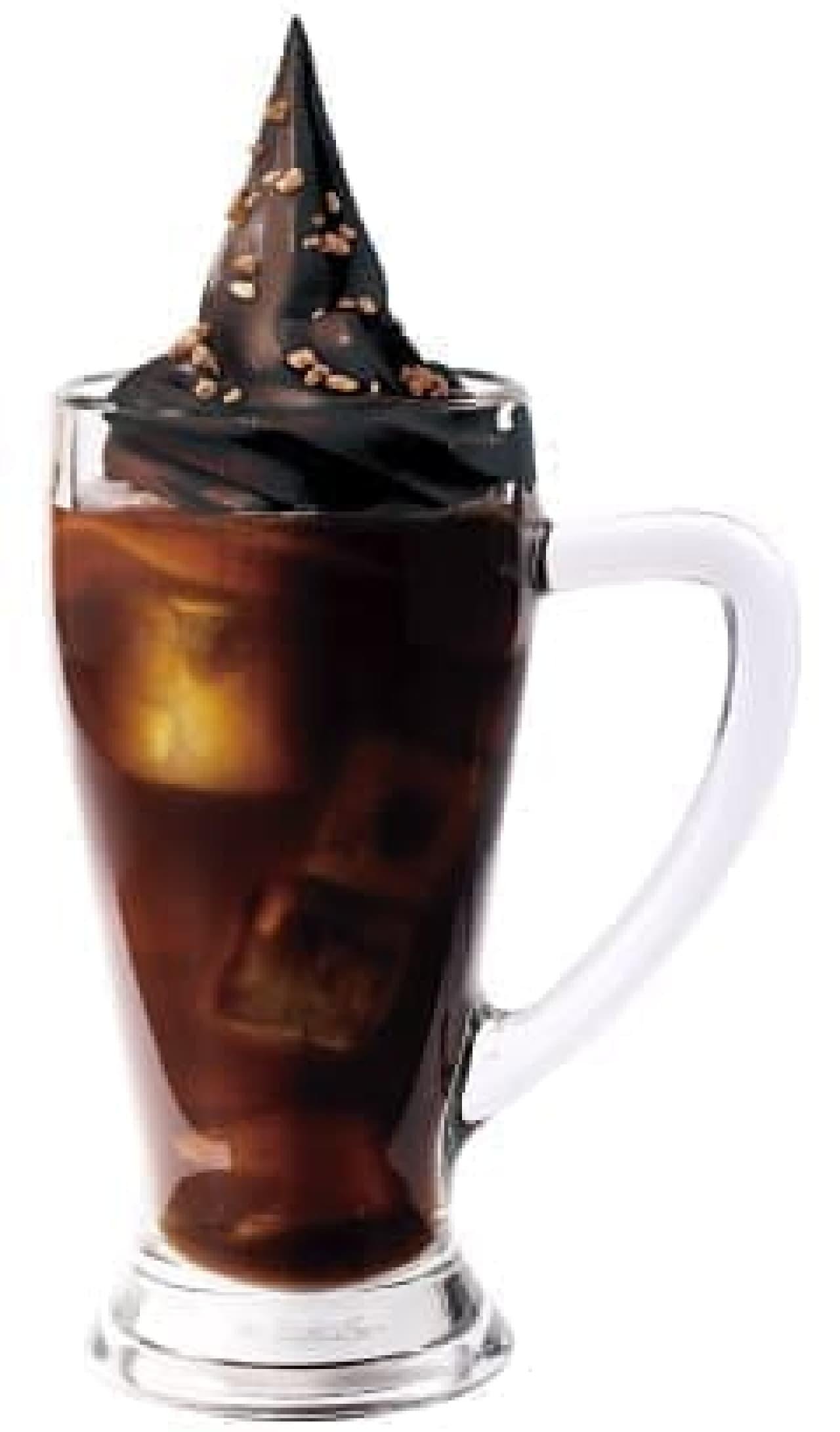 コメダ珈琲店とゴディバのコラボメニュー「クリームコーヒー」