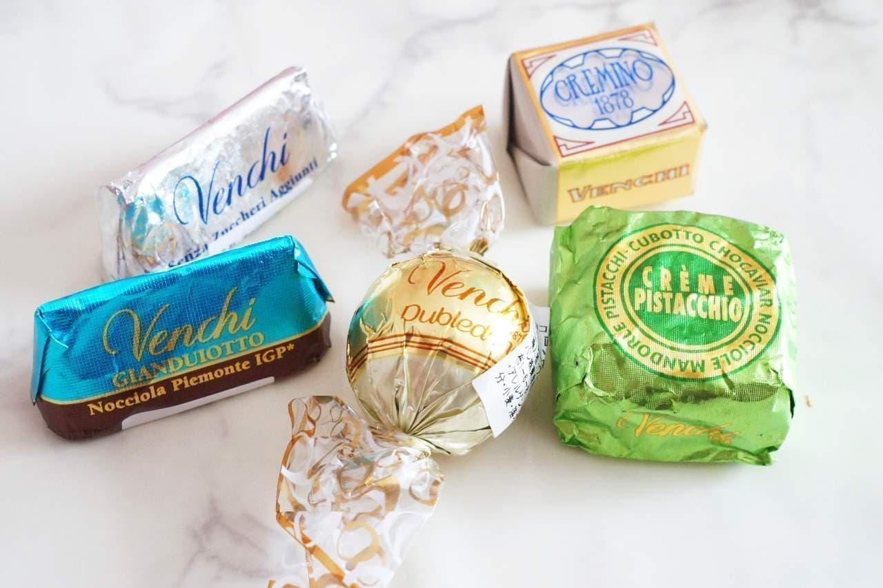 ヴェンキのチョコレート