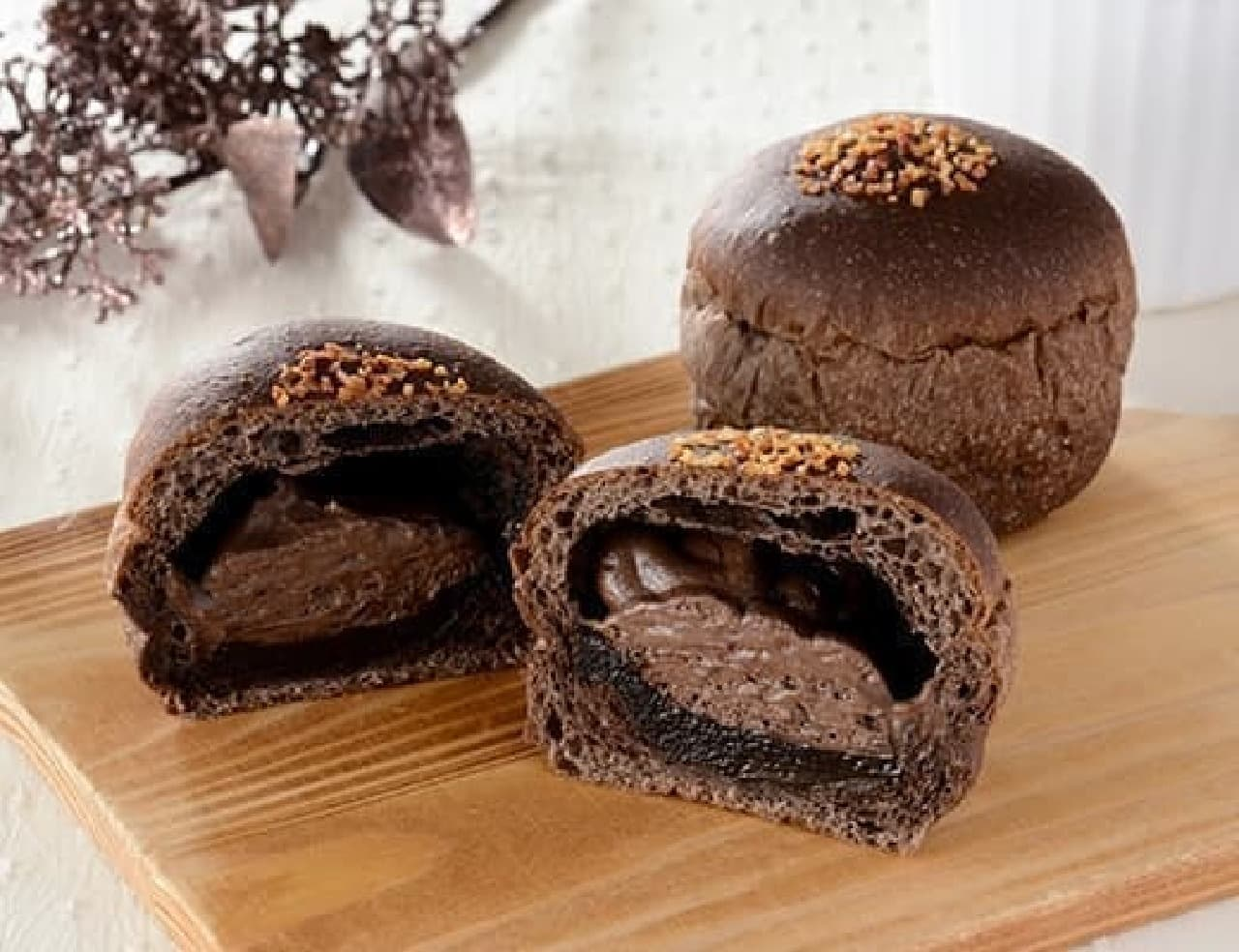 ローソン「NL 大麦のショコラホイップパン」