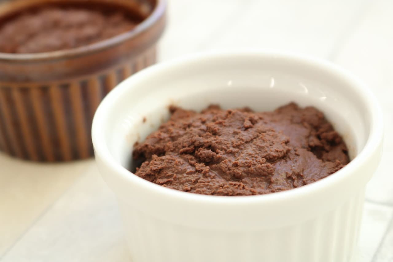 水とチョコだけでチョコムース
