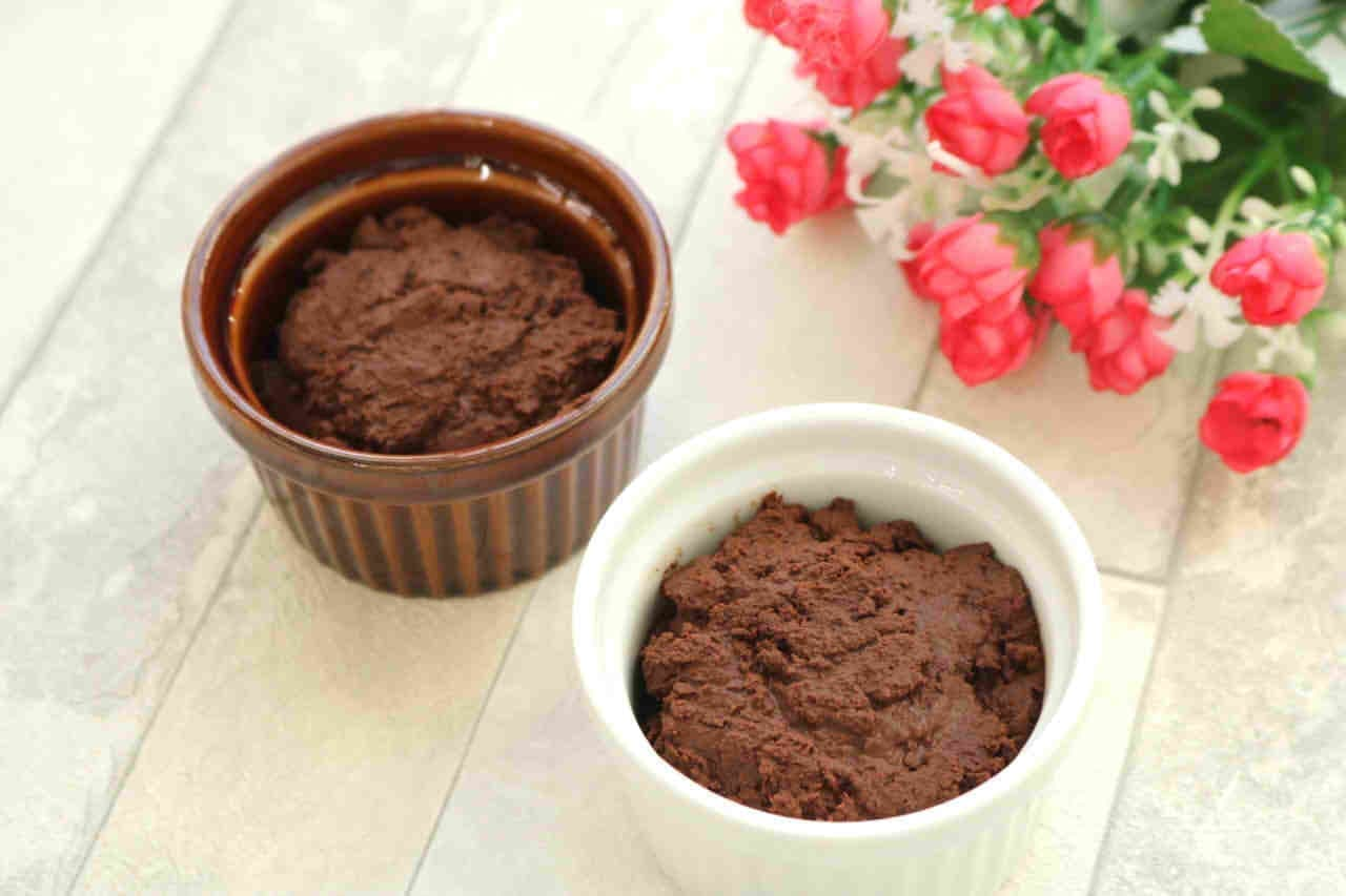 水とチョコだけで作るチョコムース