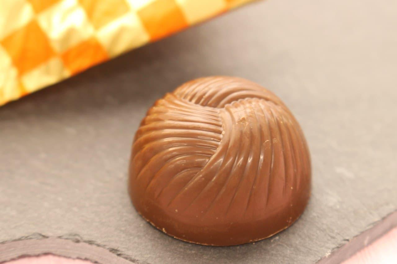 セブンイレブン限定「辻利 お茶 チョコレート」
