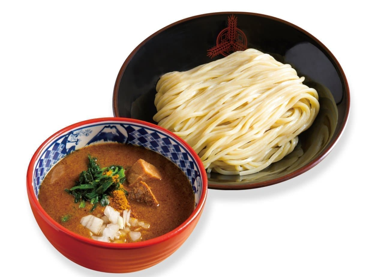 期間限定「三田流カレーつけ麺」三田製麺所から