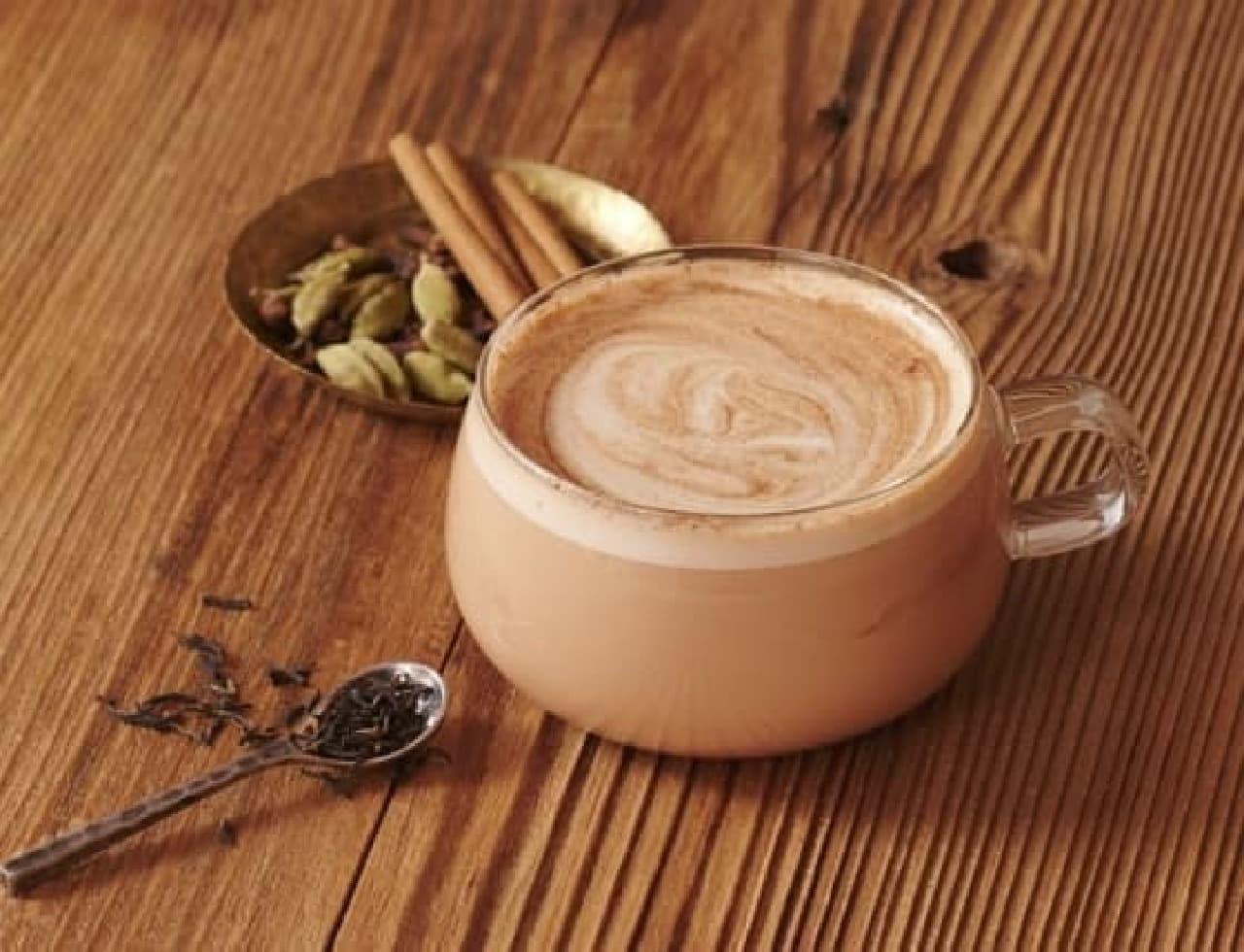 タリーズコーヒー「&TEA チャイミルクティー」