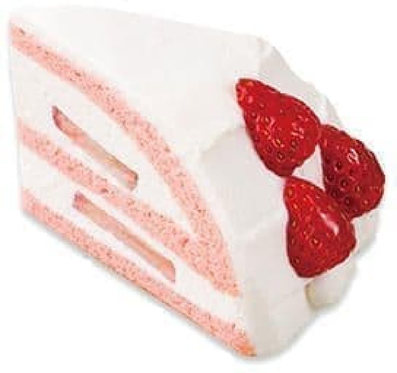 不二家洋菓子店「苺のズコット」