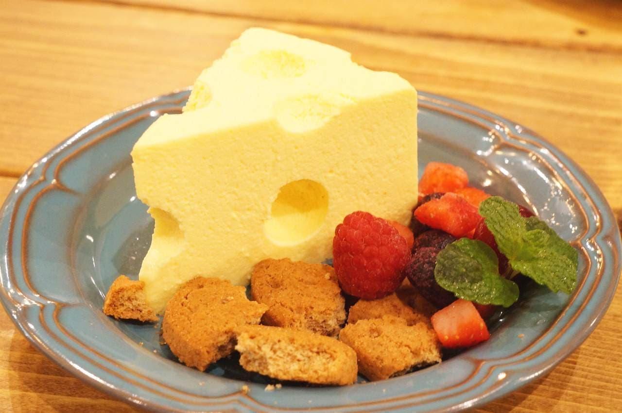 CCC チーズチーズカフェ「チーズ×チーズ×チーズ」