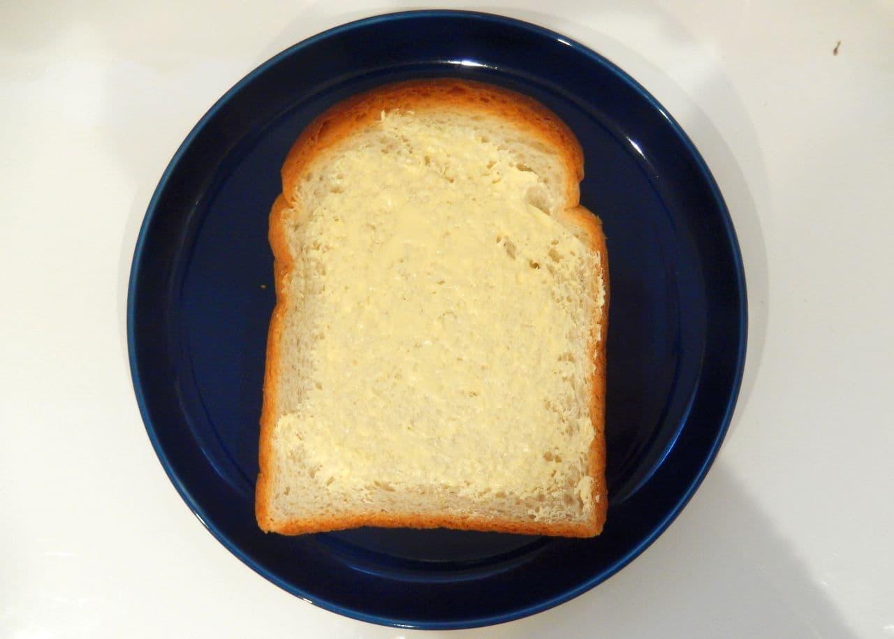 10分レシピ「羊かんバタートースト」