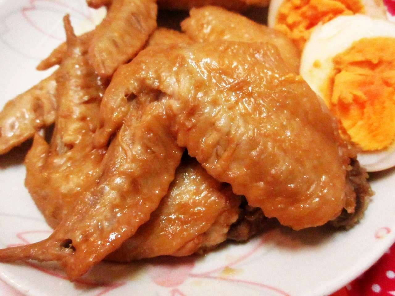 煮 鶏 の ポン酢 さっぱり