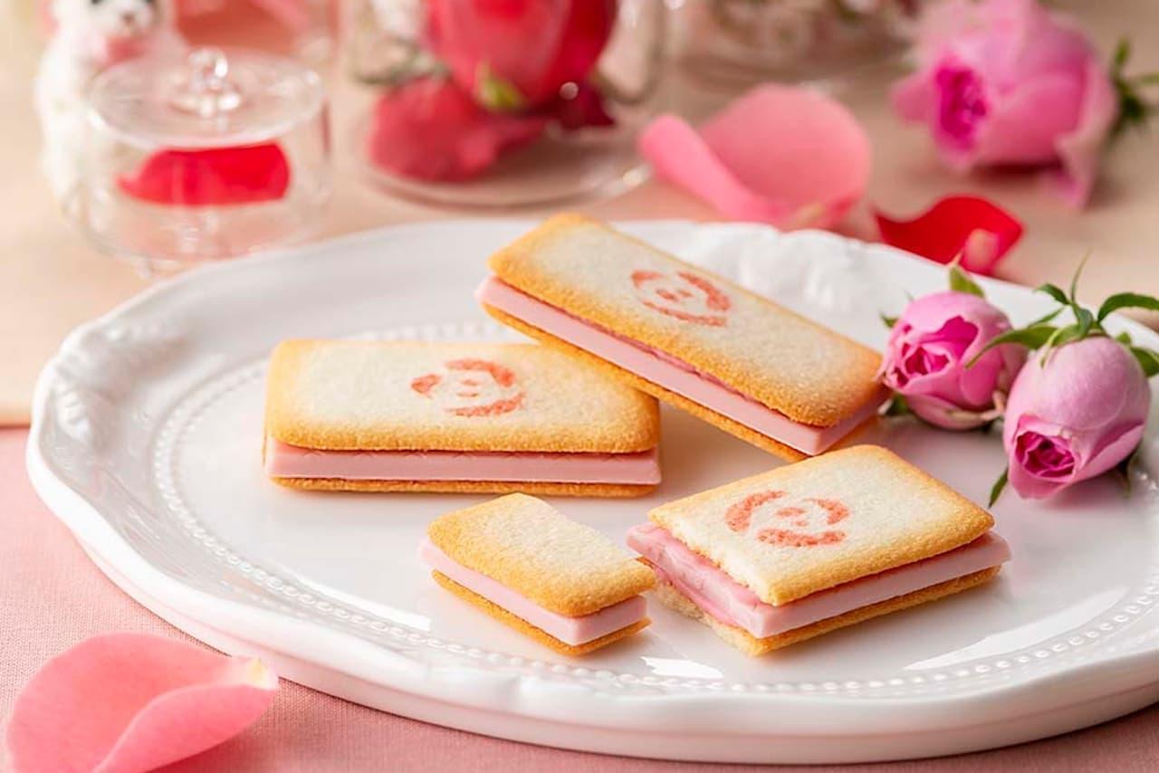 銀のぶどうに「バラ科のお菓子 ショコラ・ローズ」