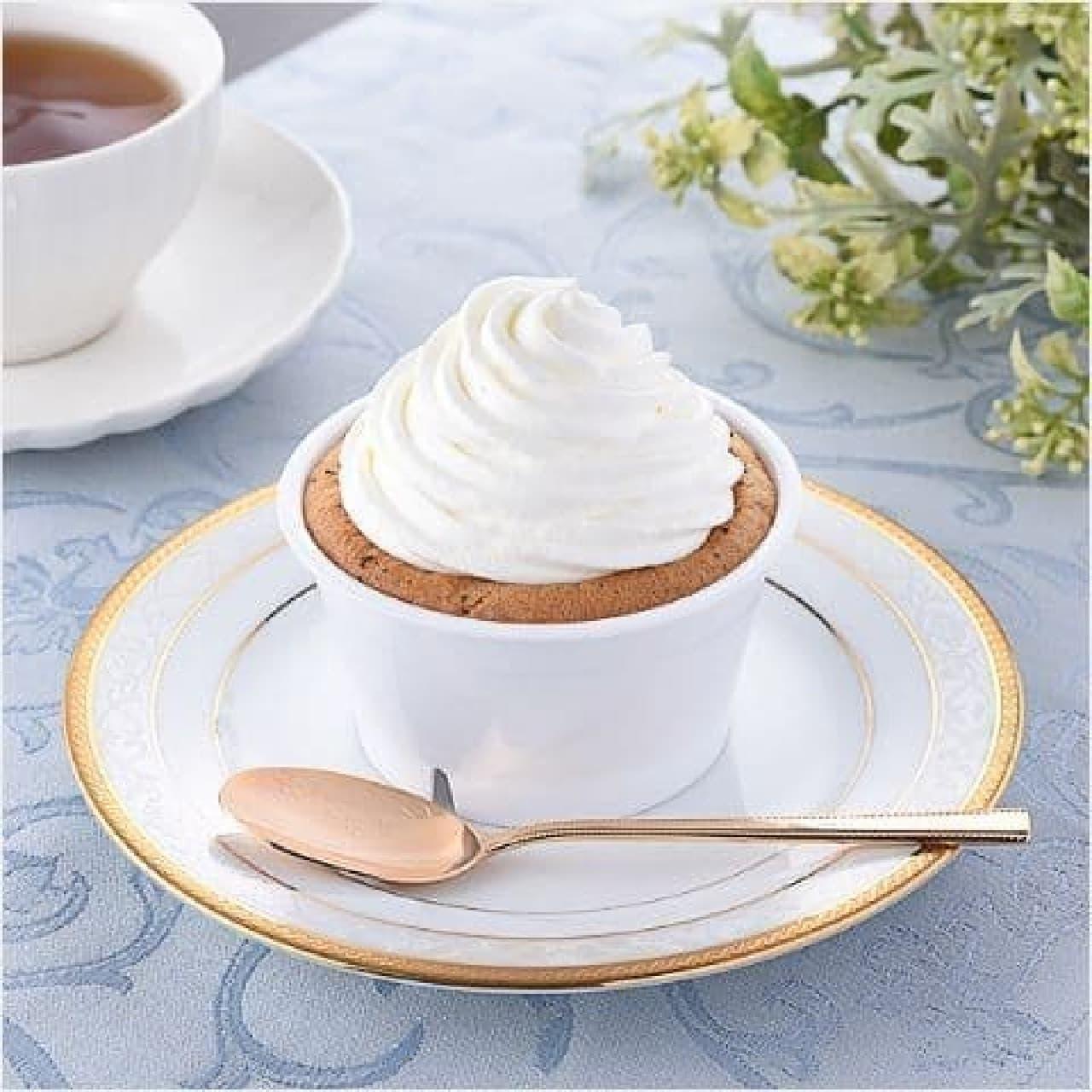 ファミリーマート「クリームほおばる紅茶シフォン」