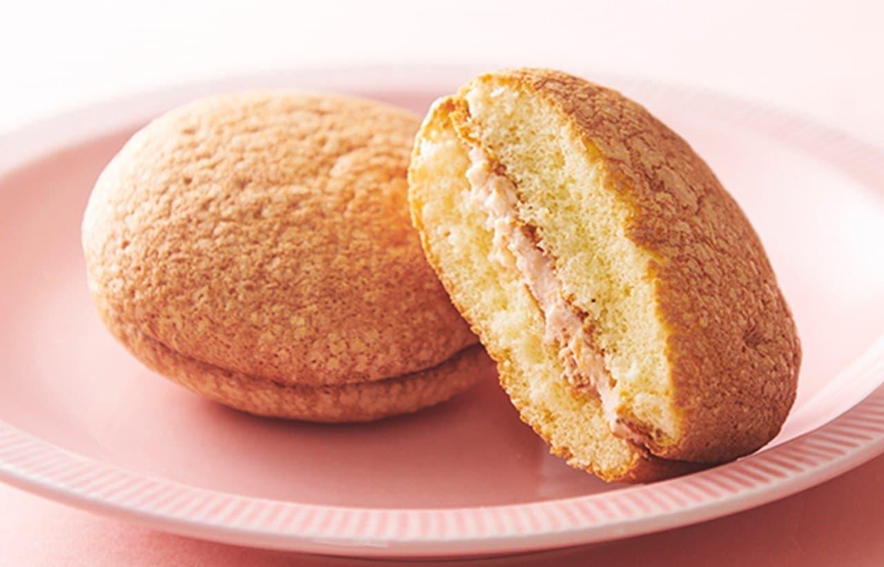 シャトレーゼ「焼き菓子 さくら香るふんわりブッセ」