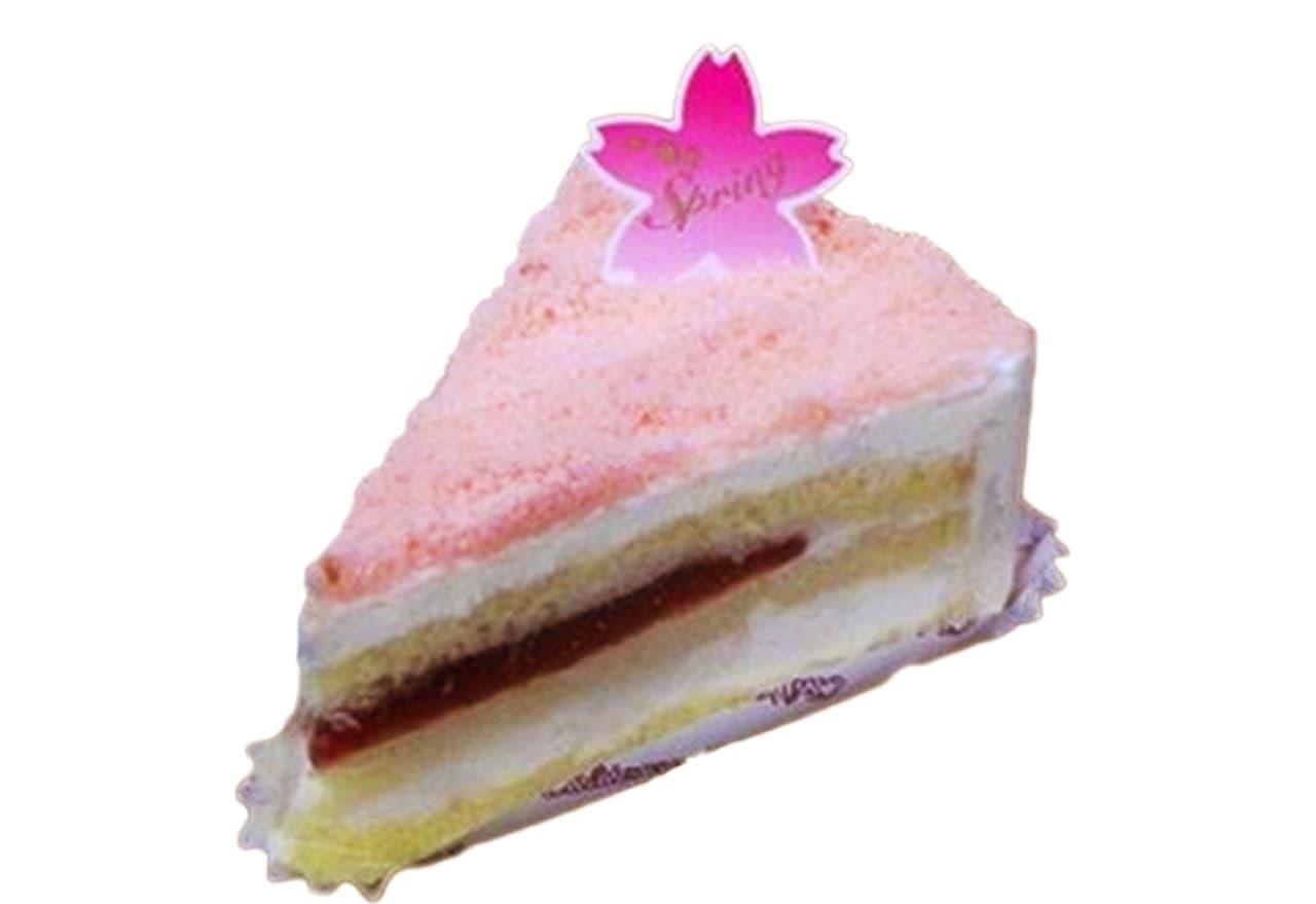 シャトレーゼ「ふわふわフロマージュ 春の桜」