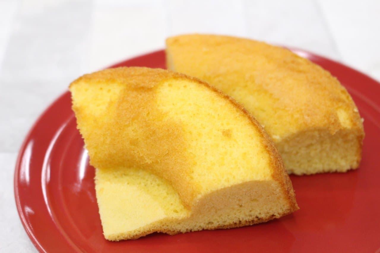 ローソン「大麦のシフォンケーキ」