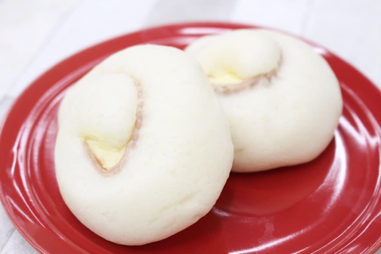 ローソン「チーズとハムのふっくらパン」