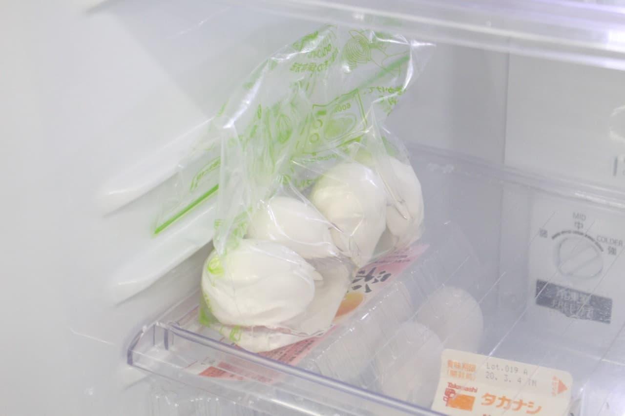 ステップ7粗熱が取れたら冷蔵庫へ