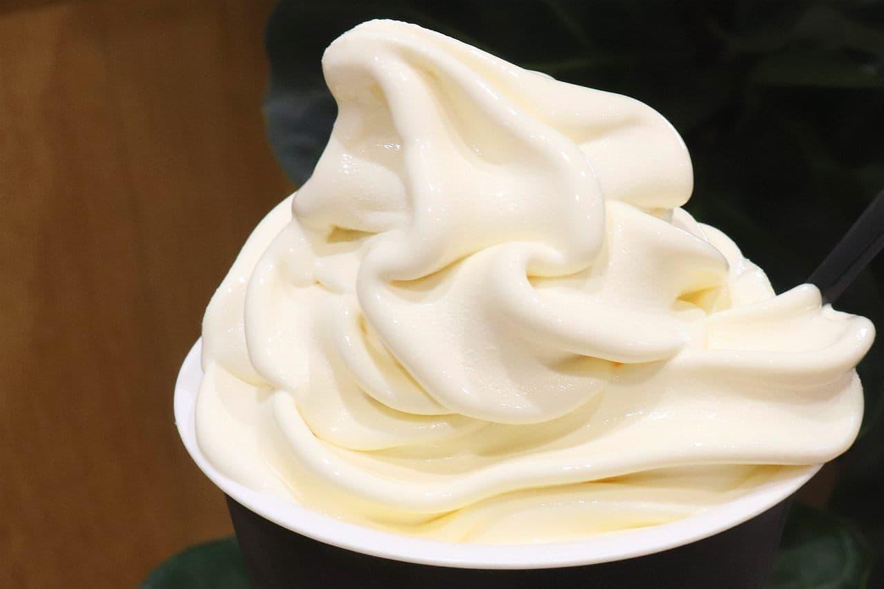 シャトレーゼアリオ葛西店の「プレミアム北海道発酵バターソフト」