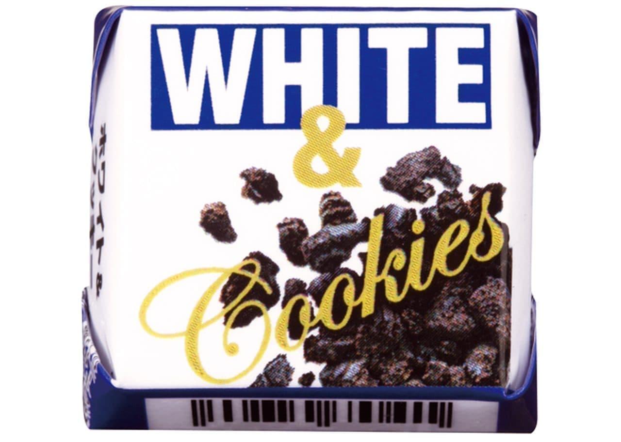チロルチョコ新商品「チロルチョコ〈ホワイト&クッキー〉」