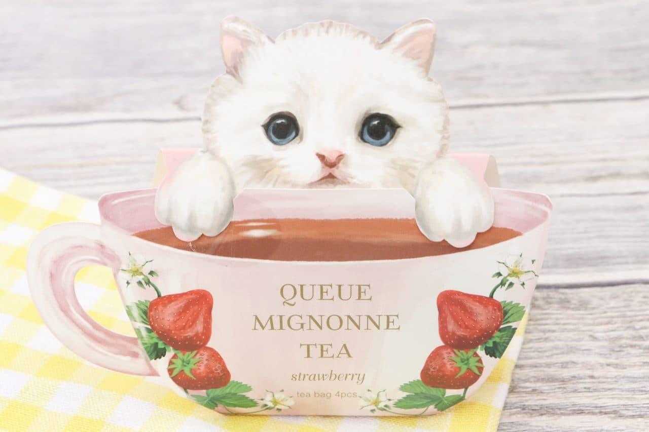猫デザインの「クーミニョンティー」