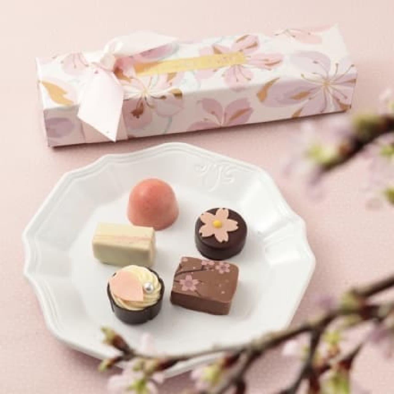ベルアメールの「桜ショコラ」