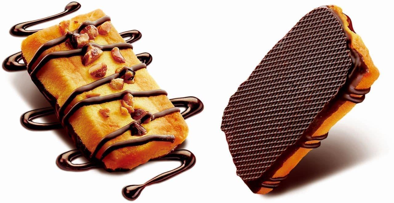 不二家「カントリーマアムロイヤルボックス(贅沢チョコケーキ)」