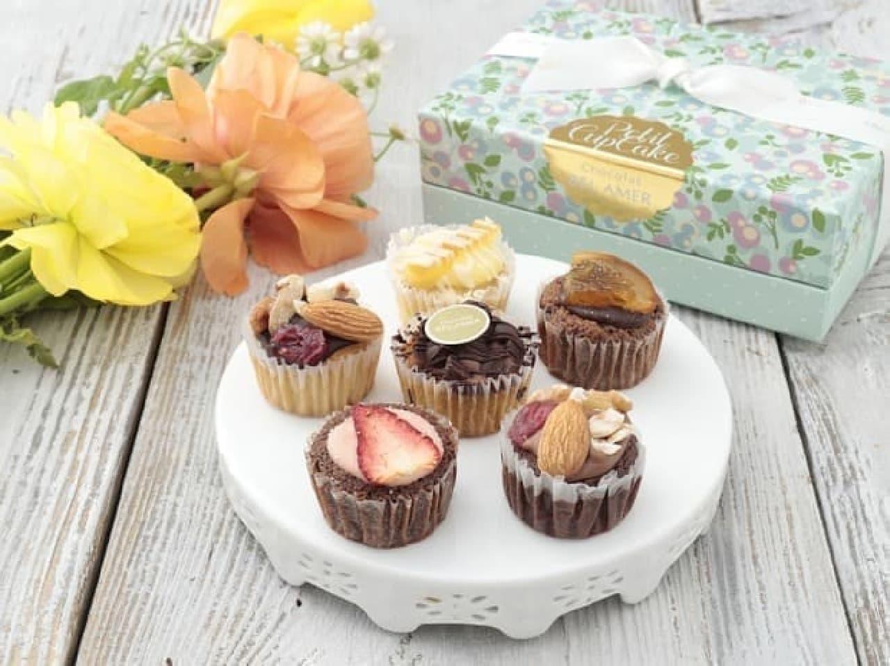 ベルアメールの「ショコラカップケーキ 6コ」