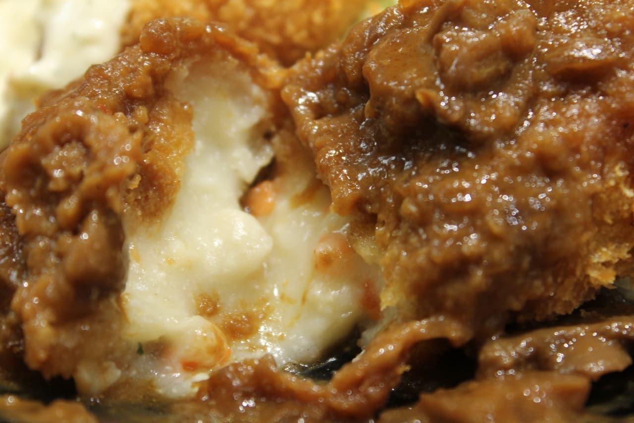 松のや「とろーりチキンコロッケ定食」