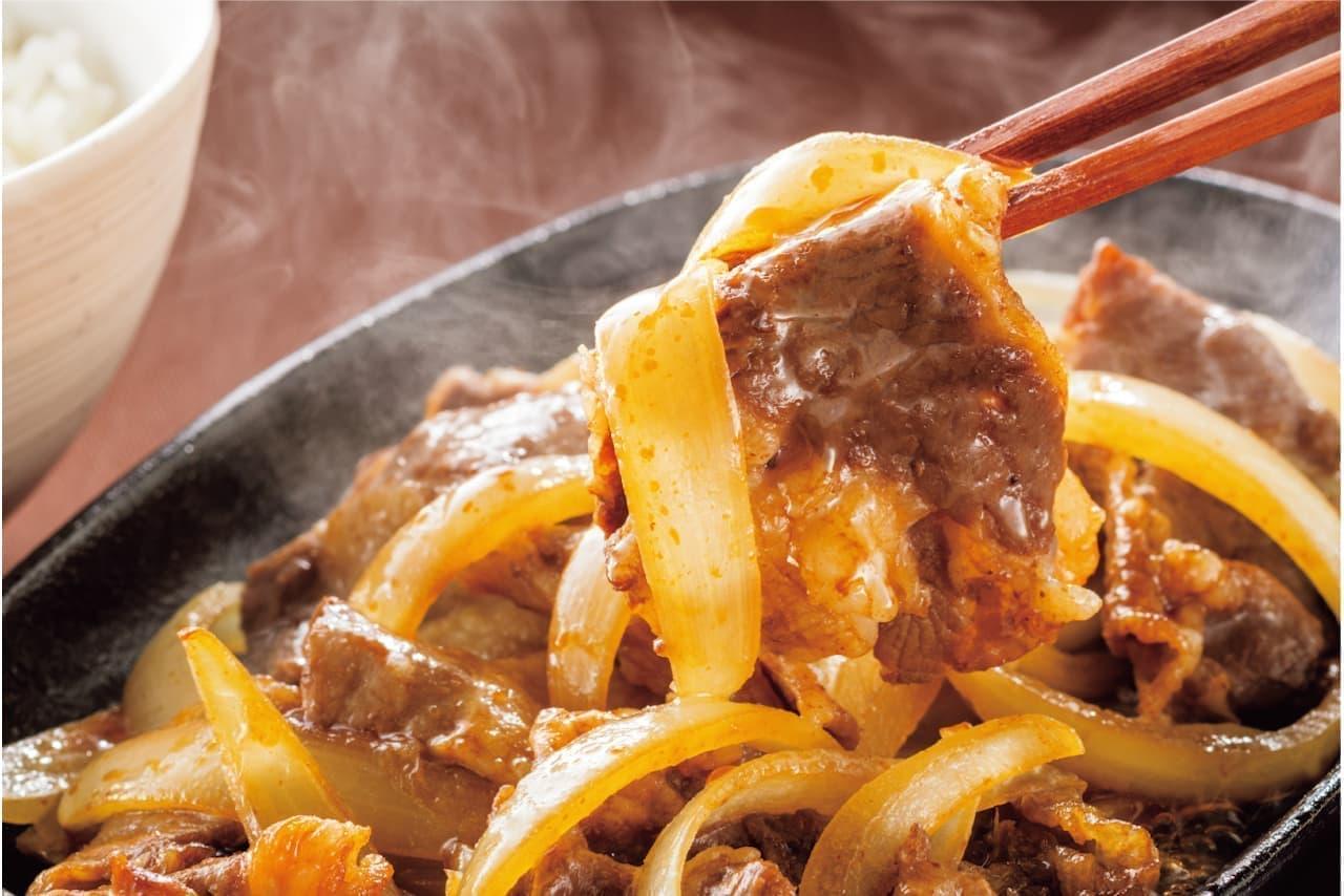 やよい軒に「鉄板牛バラ焼き定食」「鉄板焼肉ビビンバ定食」