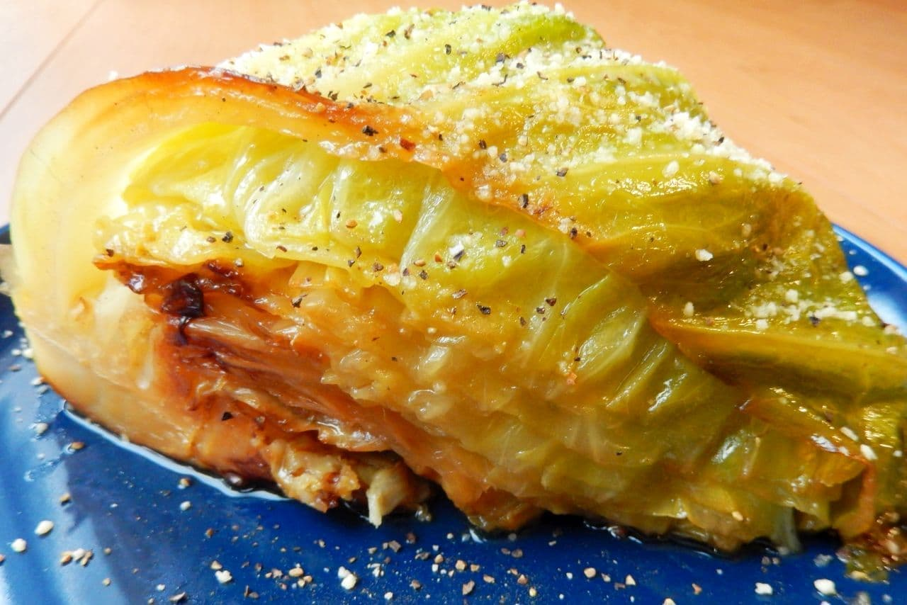 「キャベツステーキ」の簡単レシピ