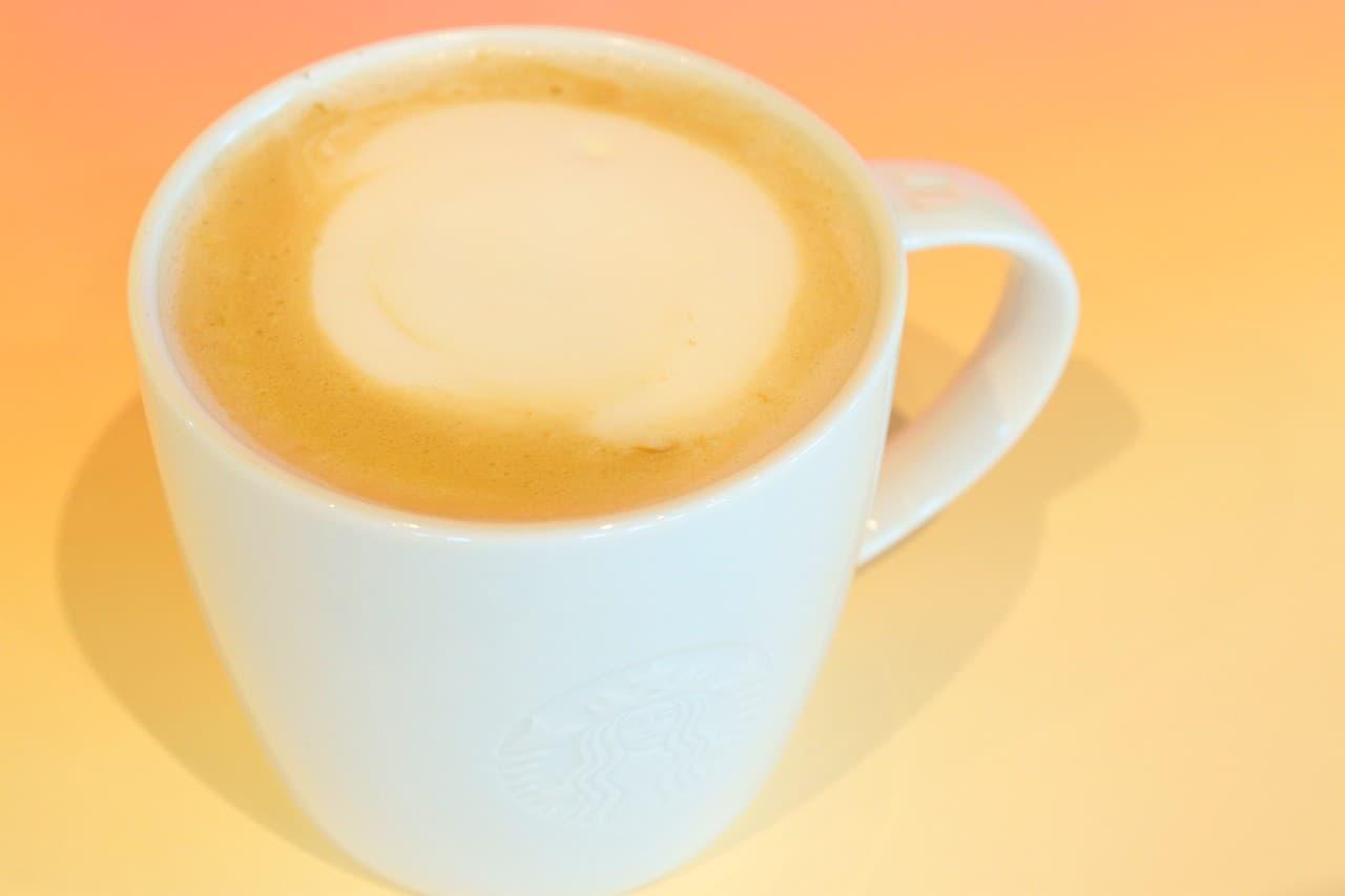 スターバックス「バタースコッチ コーヒー ラテ」