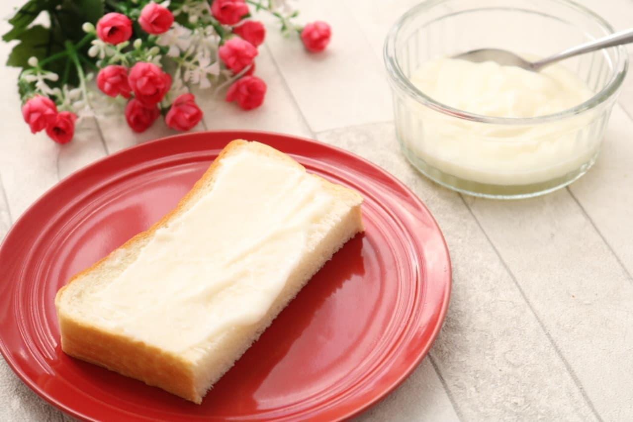 卵白のミルククリーム