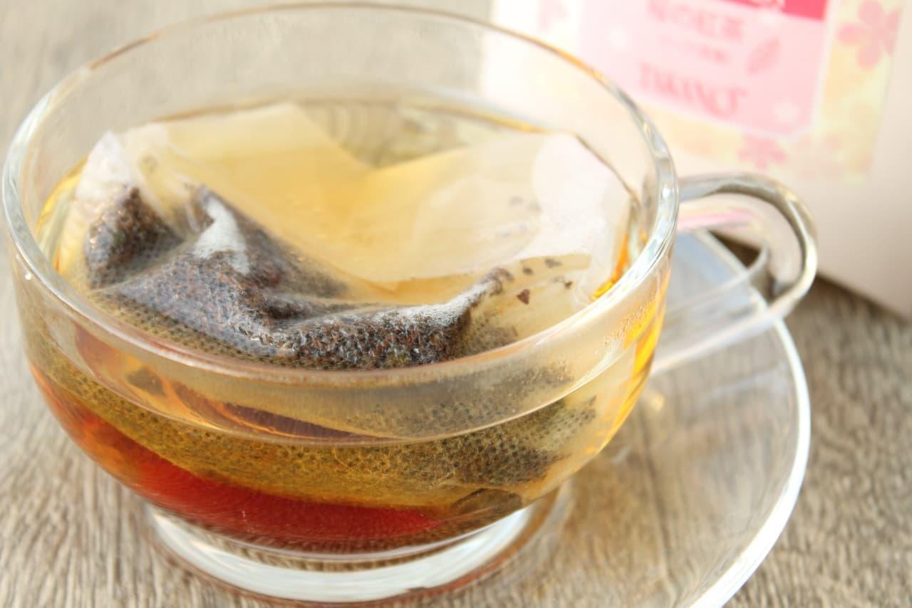 新宿高野「フラワージャム 桜」と「桜の紅茶」