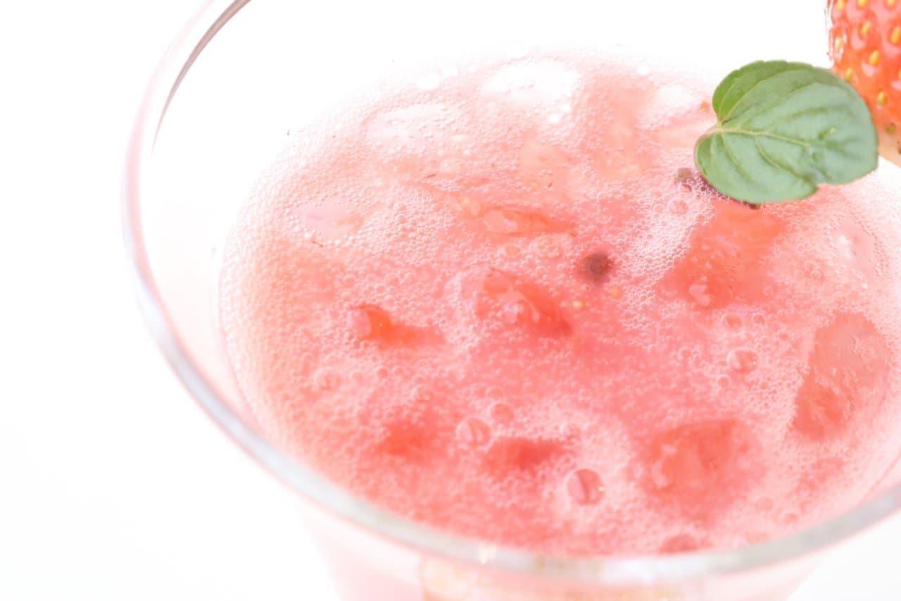 渋谷西村 フルーツパーラー「苺ジュース」