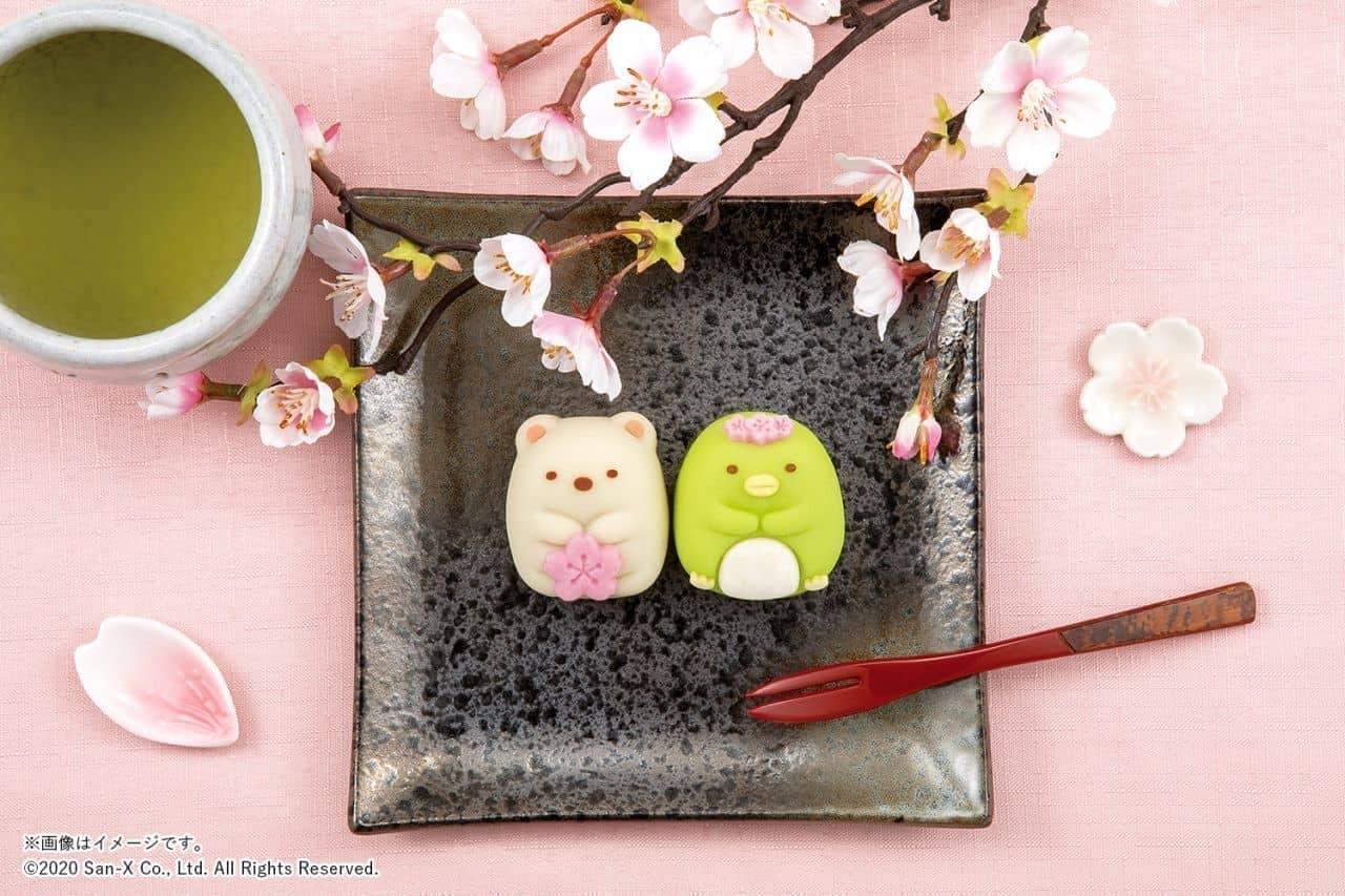 ファミリーマートに「食べマス すみっコぐらし ~春は桜でお花見タイム~」