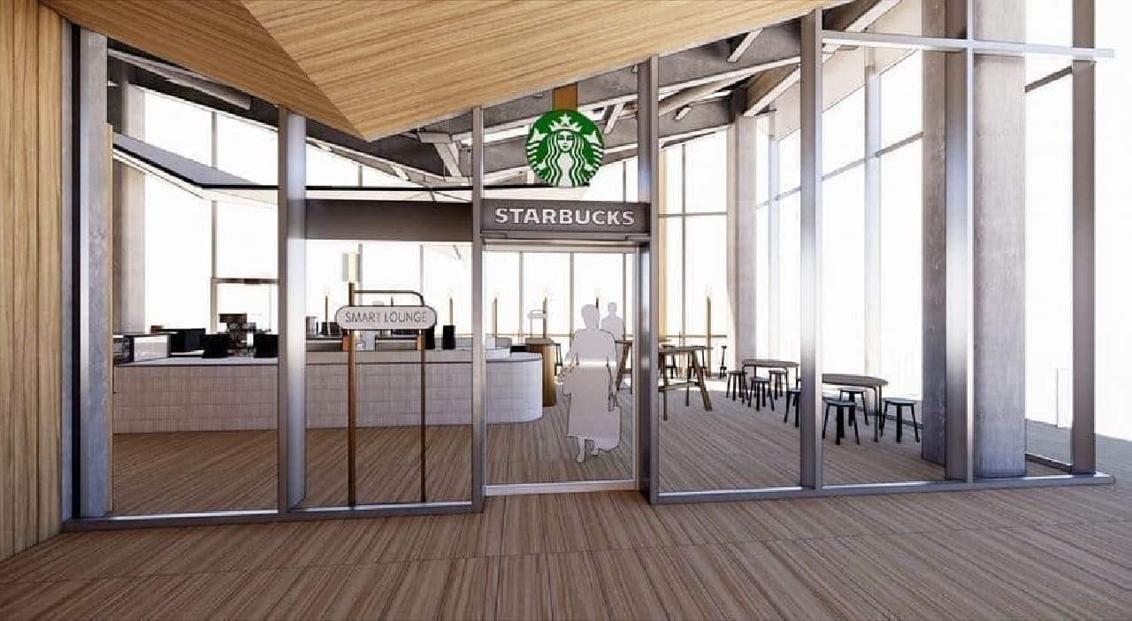 スターバックス コーヒー 高輪ゲートウェイ駅店