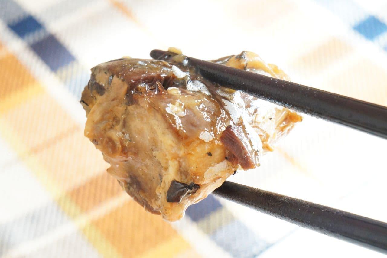 無印良品の「さばの尾肉水煮」を使った「サバじゃが」