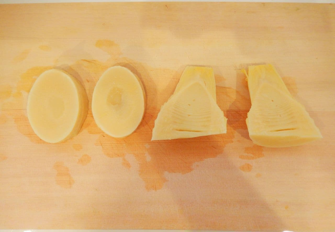 たけのこのバター醤油ステーキ