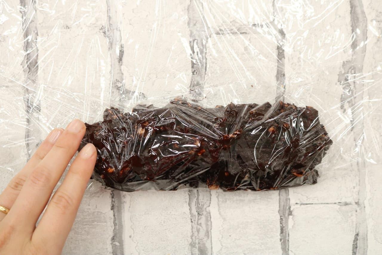 チョコサラミのレシピ