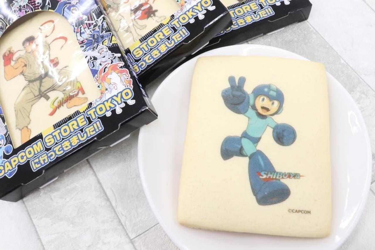 CAPCOM STORE TOKYO(カプコンストアトーキョー)「CAPCOM STORE TOKYO プリントクッキー」
