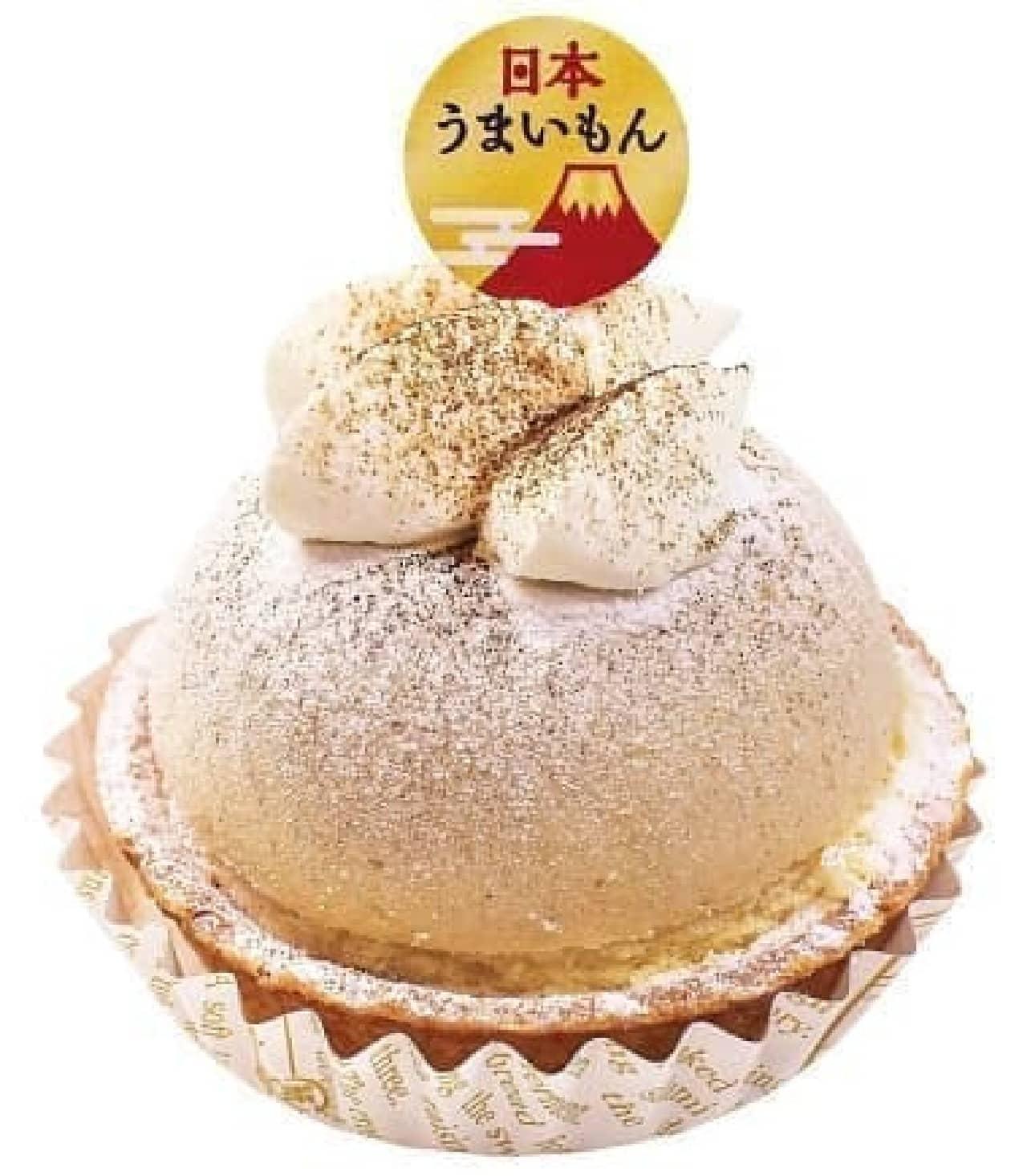不二家洋菓子店「石川県産加賀棒ほうじ茶のチーズタルト」